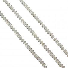 Oponka briolette crystal AB 4x6mm