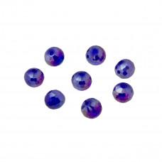 Kulka fasetowana capri blue AB 8mm