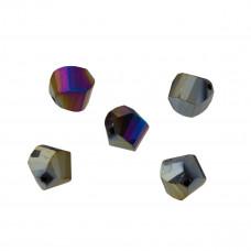 Helix fasetowany metalic helio 12mm