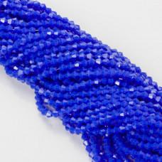 Kryształki bicone fasetowane 4mm full blue