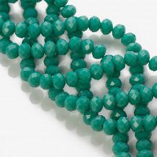 Kryształki oponki ocean green 6x8mm
