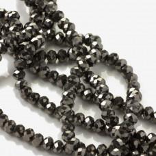 Kryształki oponki hematite 4x6mm