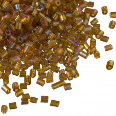 Rurki drobne rainbow shine topaz 2x3mm