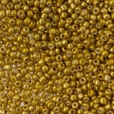 Koraliki SeedBeads Round 12/0 Metallic Gold