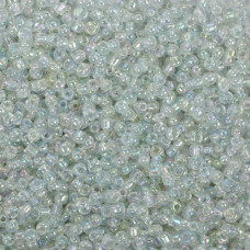 SeedBeads Round 12/0 Dark crystal AB
