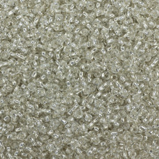 SeedBeads Round 12/0 Silver-Lined Crystal