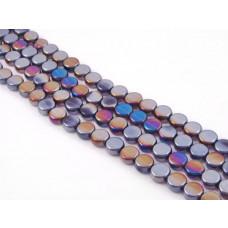 Szklane krążki lilac AB 10mm