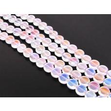 Szklane krążki crystal AB 10mm