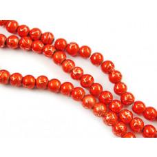 Kulki spectra pomarańczowe 6mm