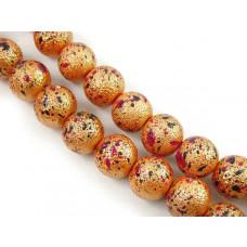 Kulki chropowane w kolorze złota 12mm