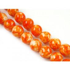 Kulki mozaika pomarańczowe 14mm
