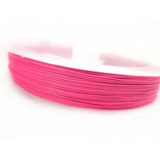 Linka stalowa różowa 0,45 mm
