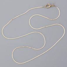 Łańcuszek gotowy cardano real gold 40cm