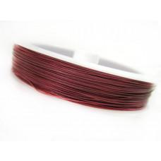 Linka stalowa różowa 0,45mm