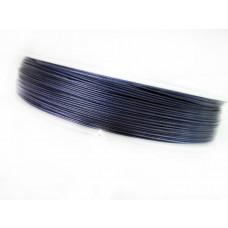 Linka stalowa denim blue 0,45mm