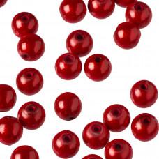 Koraliki miracle kulki czerwone 10mm