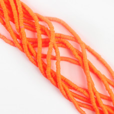 Koraliki Katsuki z modeliny pomarańczowe 4mm