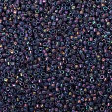 Koraliki Miyuki Delica Opaque Purple Gray Rainbow Luster 11/0