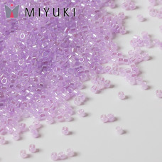 Koraliki Miyuki Delica 11/0 Lined Crystal/Pale Lilac
