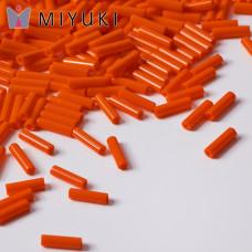Koraliki Miyuki Bugles #2 6 mm Opaque Orange