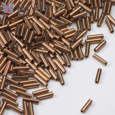 Koraliki Miyuki Bugles #2 6 mm Metallic Dk Bronze