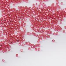 Koraliki Miyuki Delica 11/0 Dyed Silver Lined Dark Pink 11/0