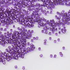 Koraliki Miyuki Delica 11/0 Dyed Silver Lined Bright Violet 11/0