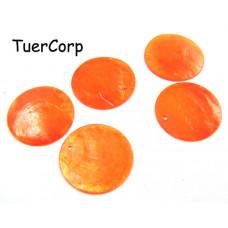 Masa perłowa koło pomarańczowe 25mm