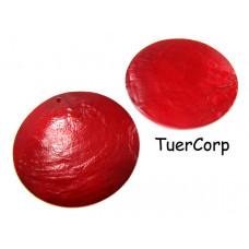 Masa perłowa koło czerwone 50mm