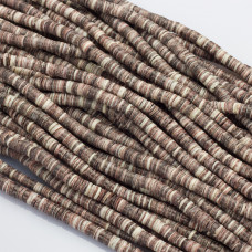 Krążki z muszli brązowe 5mm