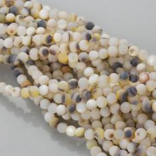 Masa perłowa opalizująca kulka matowa 7mm