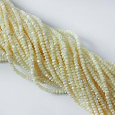 Masa perłowa opalizująca dysk opalizujący 3x4mm biała