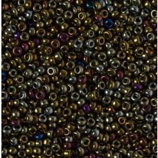 Koraliki NihBeads 12/0 Higher-Matallic Iris Green/Brown