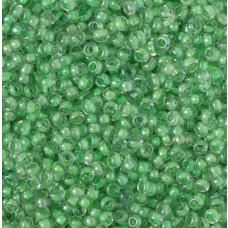 Koraliki NihBeads 12/0 Inside-Color Lustered Crystal/ Celery Line