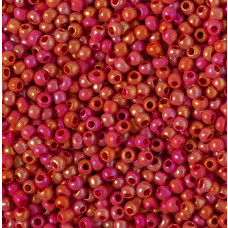 Koraliki NihBeads 12/0 Opaque – Lustered Rainbow Cherry