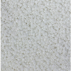 Koraliki NihBeads 12/0 Opaque – Lustered White