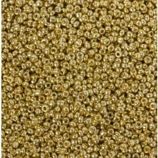 Koraliki NihBeads 12/0 Metallic Lt. Gold