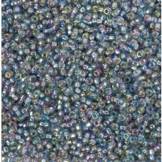 Koraliki NihBeads 12/0 Silver-Lined Rainbow Black Diamond