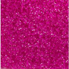 Koraliki NihBeads 12/0 Inside-Color Crystal/ Dark Neon Pink Line