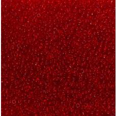 Koraliki NihBeads 12/0 Transparent Siam Ruby