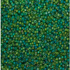 Koraliki NihBeads 12/0 Trans-Rainbow Frosted Peridot