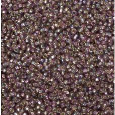 Koraliki NihBeads 12/0 Silver-Lined SH Trans-Rainbow Lila