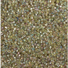 Koraliki NihBeads 12/0 Silver-Lined SH Trans-Rainbow Pale Topaz
