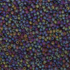 Koraliki NihBeads 12/0 Trans-Rainbow Frosted Smoky Topaz