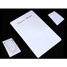 """Kartonik do kompletu biżuterii z napisem """"Biżuteria Autorska"""""""
