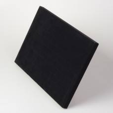 Ekspozytor na pierścionki welurowy czarny 24x35cm