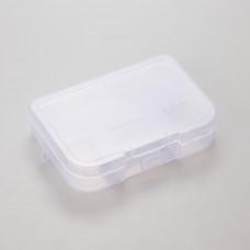 Pudełko plastikowe 5 przegródek 14x10cm