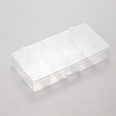 Pudełko plastikowe 10 przegródek 18x9cm