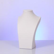 Ekspozytor na naszyjnik biały 26x16cm