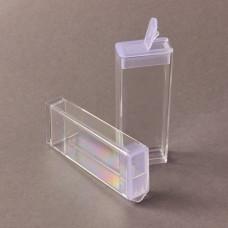 Pudełko do koralików prostokątne duże 2,5x1,3x7cm